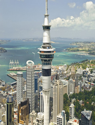 Auckland-Sky Tower in Auckland