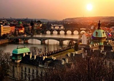Vienna Budapest Prague By Train