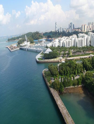 Sentosa-Island in Singapore